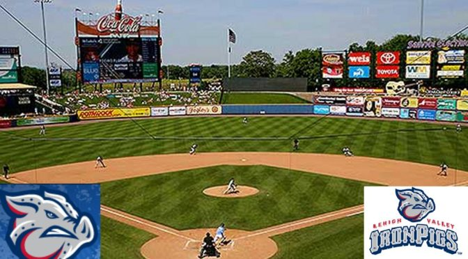 Home of the Lehigh Valley Iron Pigs, where Incarnation Parish will have its annual event on Sunday, April 29, 2018 at 1:35 pm