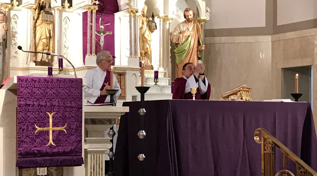 The Altar at Lent