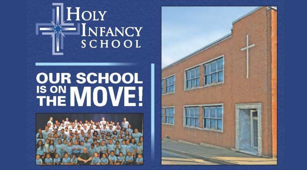 Incarnation of Our Lord Parish welcomes Holy Infancy School.