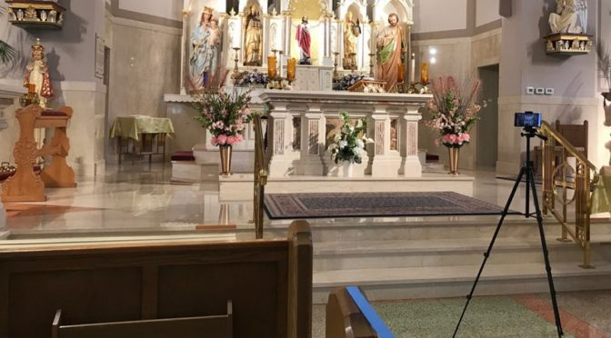 Live Stream of 10 a.m. Sunday Mass on Facebook