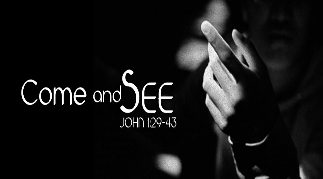 Come and see John 1:29-43